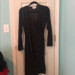Gray dress size medium